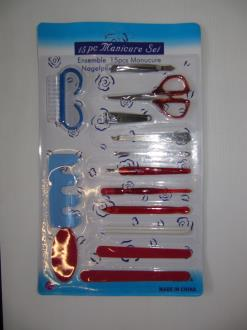 Manicure Set 15Pcs/Carded
