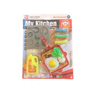 Kitchen Set with play dough