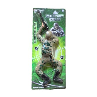 Crawling Military Man Toy