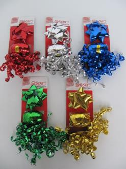Ribbon & Curling Bow 3Pcs - CLEARANCE