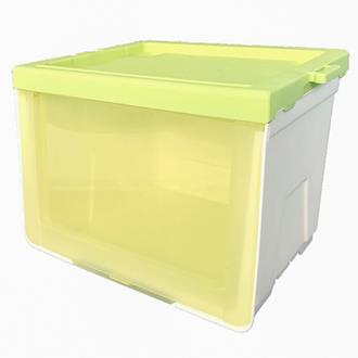 Cube Storage Box - Green (Transparent)