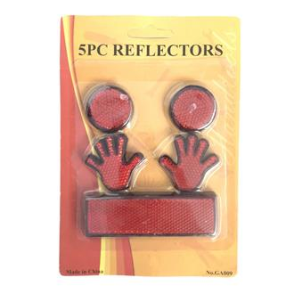 Bike Reflector 5Pcs