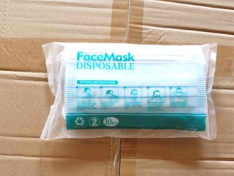 Disposable Protective Mask 10Pcs