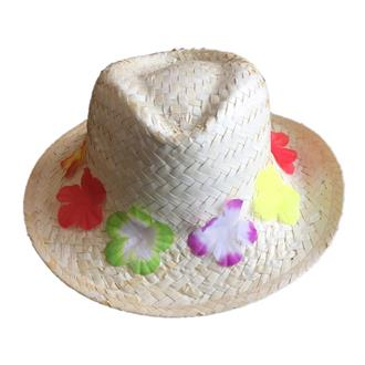 Hat with flowers