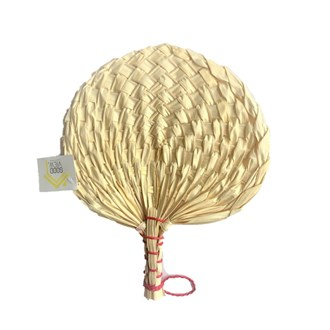 Palm Leaf Fan Natural Small
