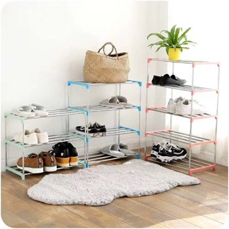 Shoe Rack Plastic 3 Tier
