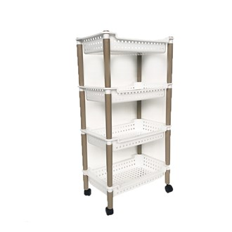4 Tier Shelf Rect.