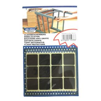 Anti Slip Pad Square 12Pcs