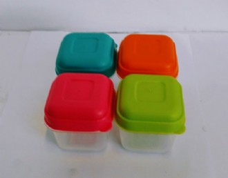 Container 4Pcs Sq.