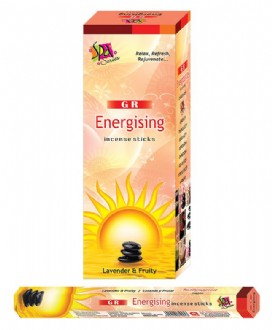 Incense Hexa - Energising (20Sticks)
