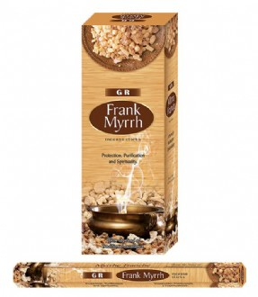 Incense Hexa - Frank Myrrh (20Sticks)
