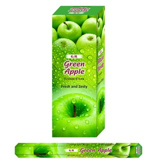 Incense Hexa - Green Apple (20Sticks)