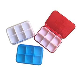 Pill Box (6 partition)