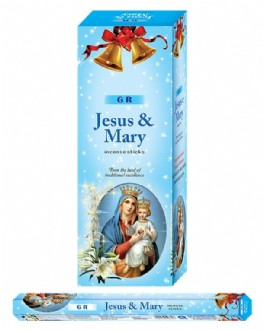 Incense Hexa - Jesus & Mary (20Sticks)