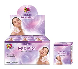 GR Fragrance Cones RELAXATION