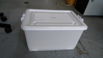 Storage Box with Wheels 30L