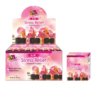 GR Fragrance Cones  STRESS RELIEF