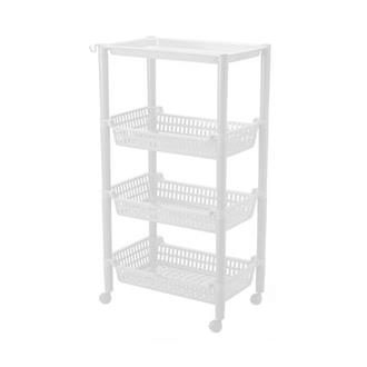 3 Tier Trolley Rect.+TopTray
